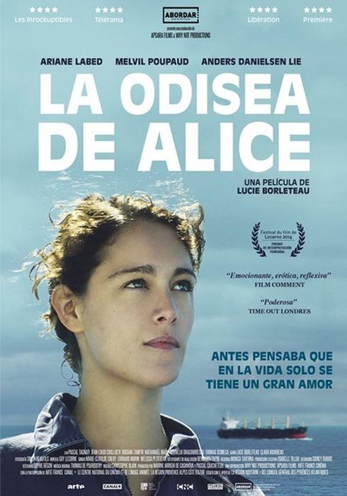 Cartel oficial en español de: La odisea de Alice