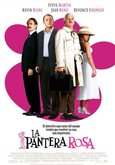 Cartel oficial en español de: La pantera rosa (2006)