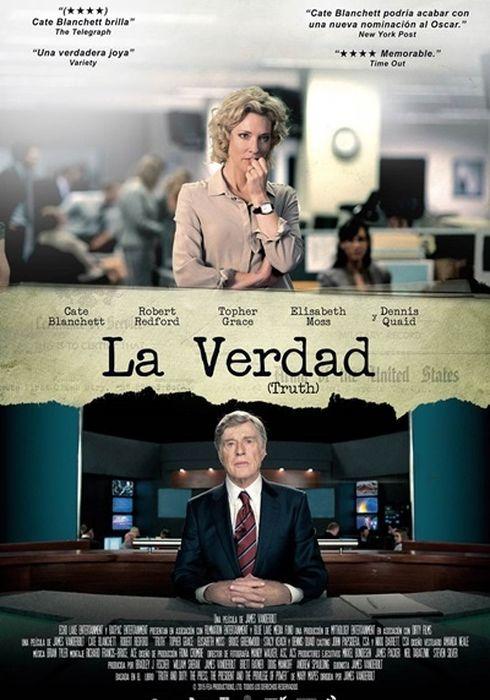 Cartel oficial en español de: La verdad
