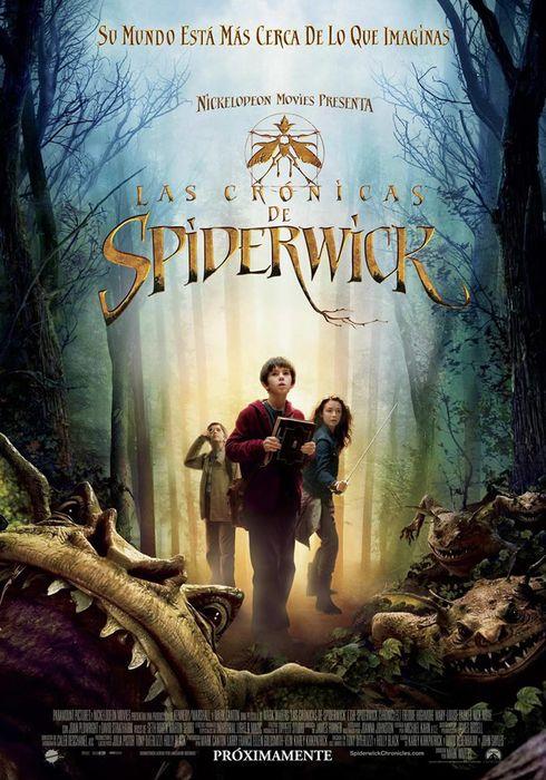 Cartel oficial en español de: Las crónicas de Spiderwick