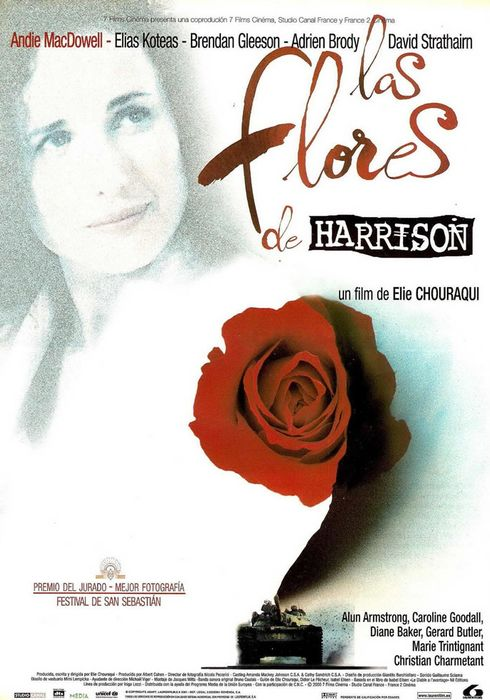 Cartel oficial en español de: Las flores de Harrison