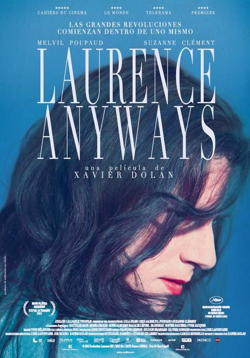 Cartel oficial en español de: Laurence anyways