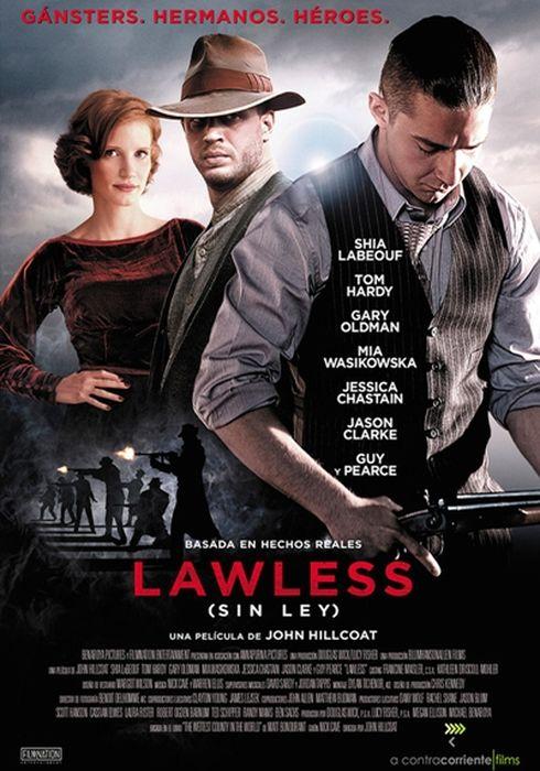 Cartel oficial en español de: Lawless (Sin ley)