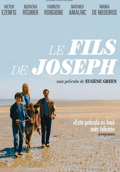 Cartel oficial en español de: Le fils de Joseph