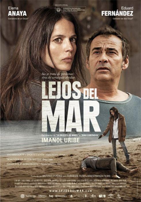 Cartel oficial en español de: Lejos del mar