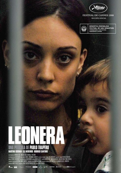 Cartel oficial en español de: Leonera