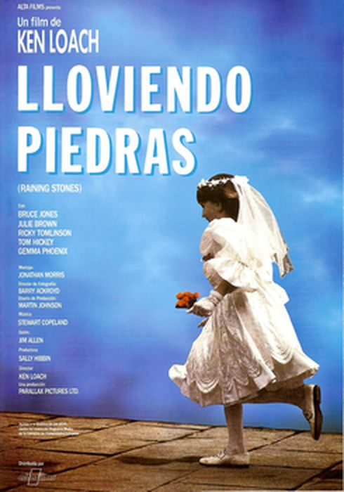 Cartel oficial en español de: Lloviendo piedras