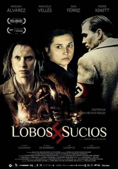 Cartel oficial en español de: Lobos sucios