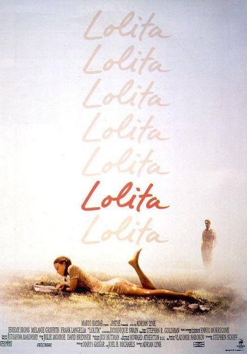 Cartel oficial en español de: Lolita (1997)