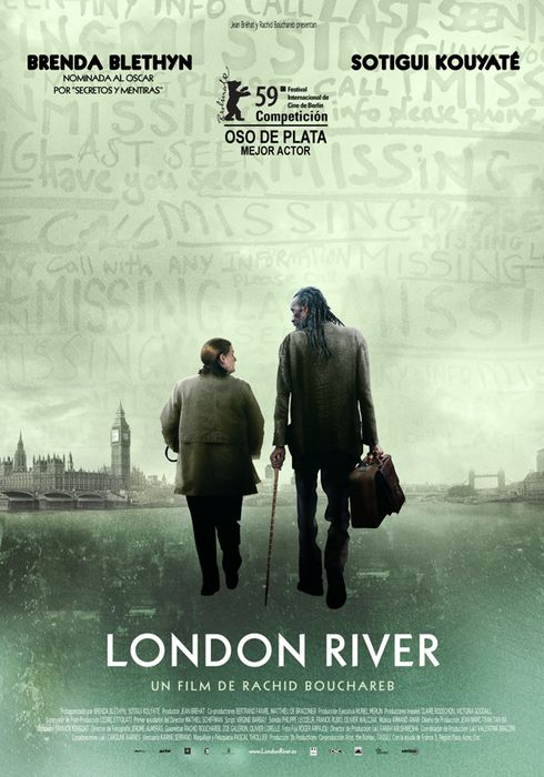 Cartel oficial en español de: London River