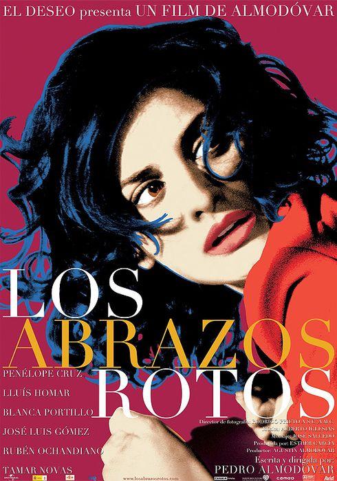 Cartel oficial en español de: Los abrazos rotos