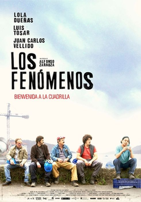 Cartel oficial en español de: Los fenómenos