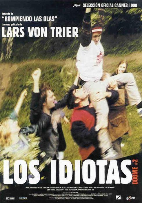 Cartel oficial en español de: Los idiotas
