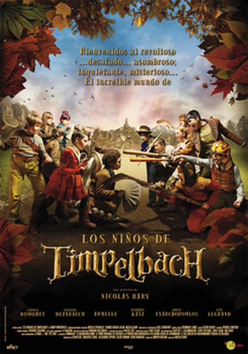 Cartel oficial en español de: Los niños de Timpelbach