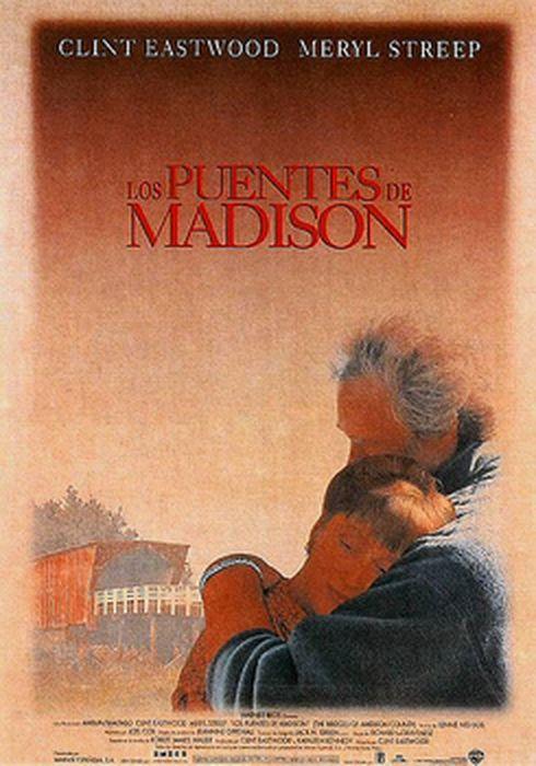 Cartel oficial en español de: Los puentes de Madison