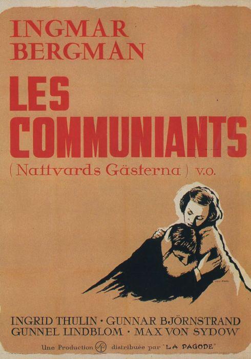 Cartel oficial en español de: Los comulgantes
