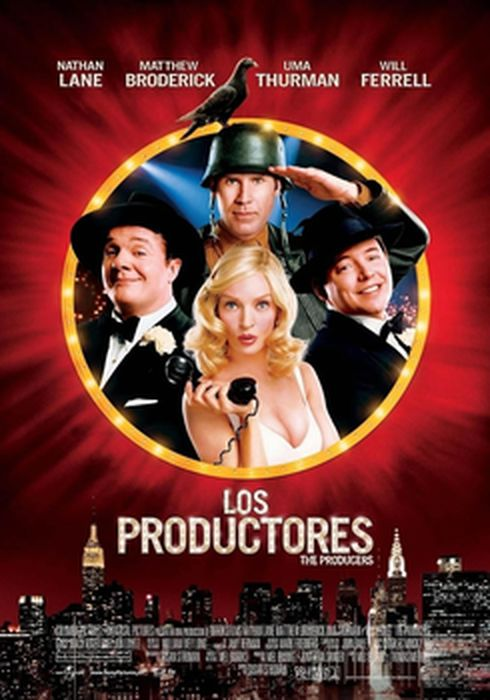 Cartel oficial en español de: Los productores (2005)