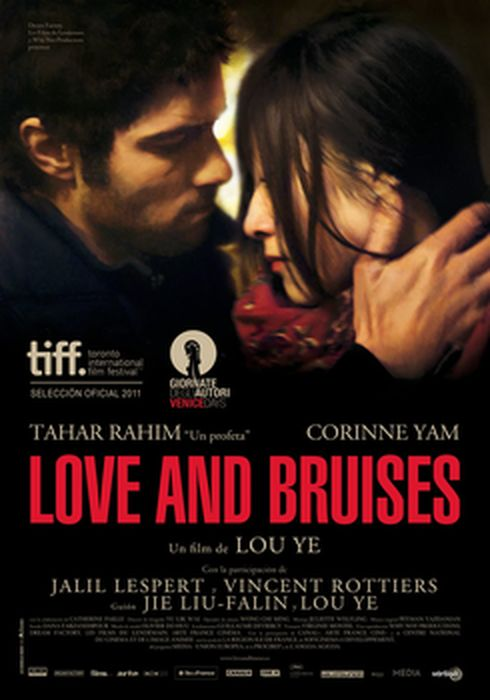 Cartel oficial en español de: Love And Bruises
