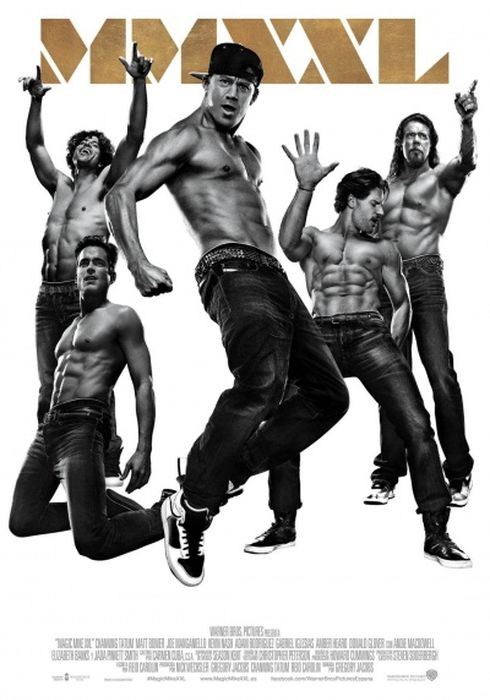 Cartel oficial en español de: Magic Mike XXL