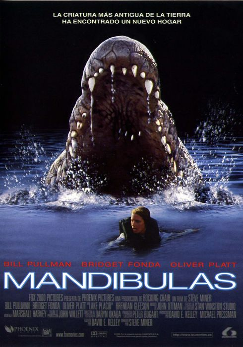 Cartel oficial en español de: Mandibulas