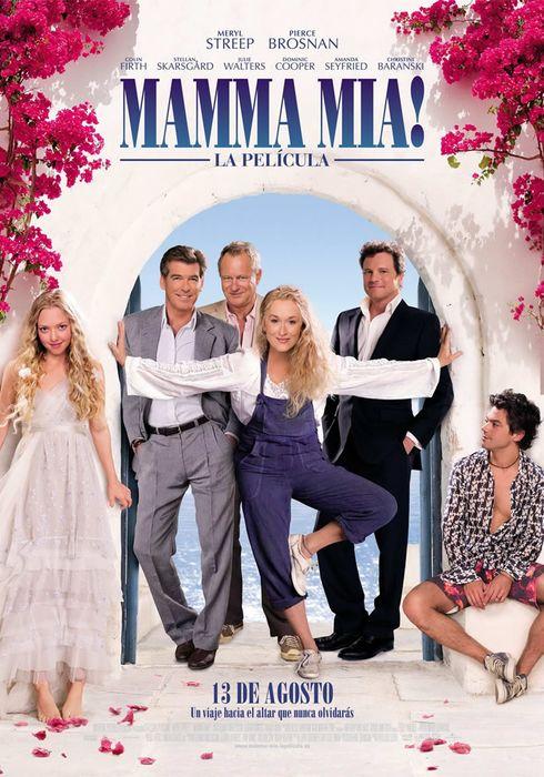 Cartel oficial en español de: ¡Mamma Mia!