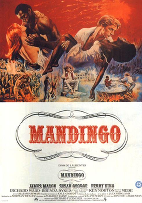 Cartel oficial en español de: Mandingo