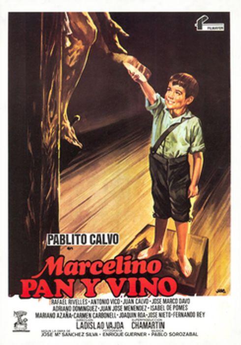 Cartel oficial en español de: Marcelino, Pan, y Vino