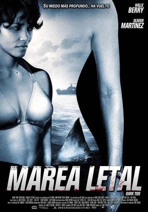 Cartel oficial en español de: Marea letal
