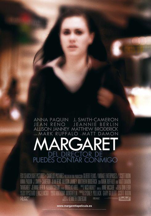Cartel oficial en español de: Margaret