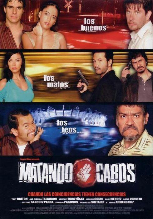 Cartel oficial en español de: Matando Cabos