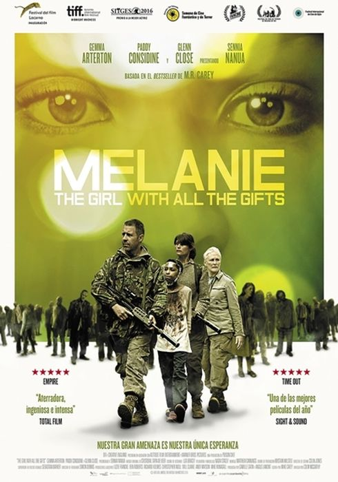 Cartel oficial en español de: Melanie. The Girl With All the Gifts