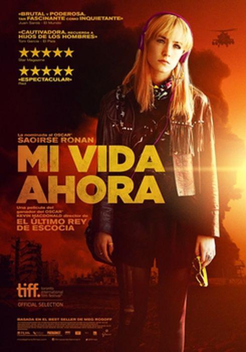Cartel oficial en español de: Mi vida ahora