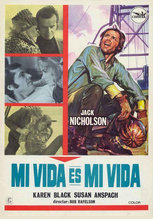 Cartel oficial en español de: Mi vida es mi vida