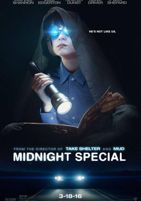 Cartel oficial en español de: Midnight Special