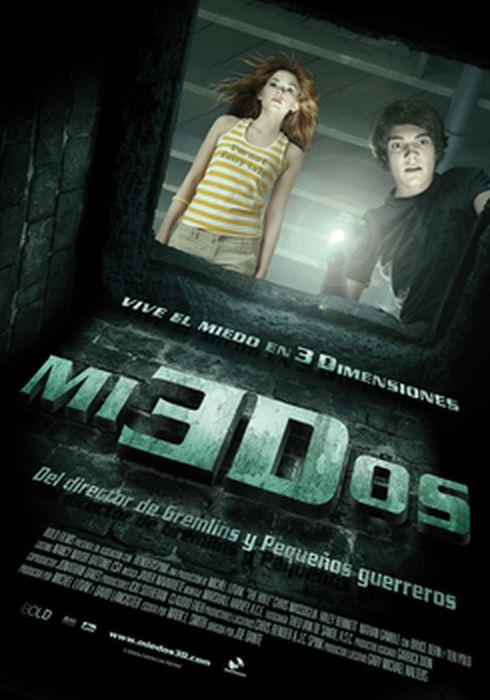 Cartel oficial en español de: Miedos 3D