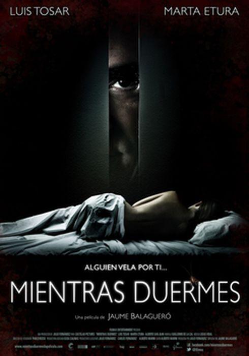 Cartel oficial en español de: Mientras duermes