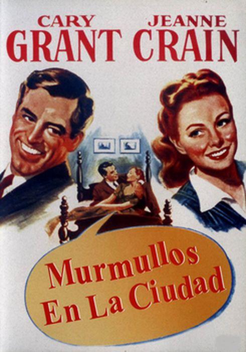 Cartel oficial en español de: Murmullos en la ciudad