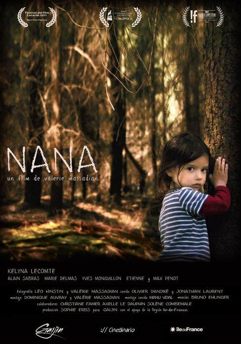 Cartel oficial en español de: Nana
