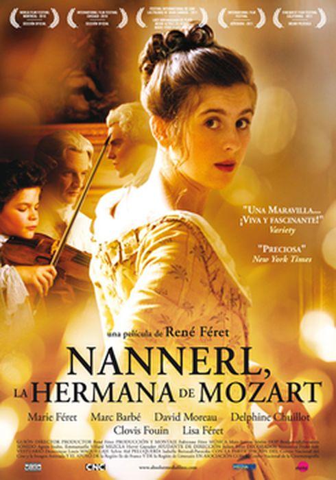 Cartel oficial en español de: Nannerl, la hermana de mozart