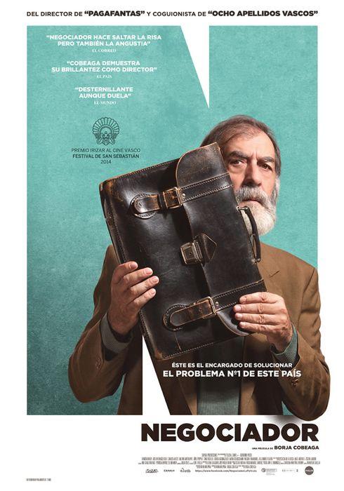 Cartel oficial en español de: Negociador