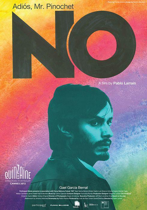 Cartel oficial en español de: No (2012)