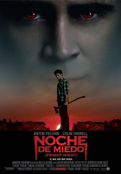 Cartel oficial en español de: Noche de miedo (Fright Night)