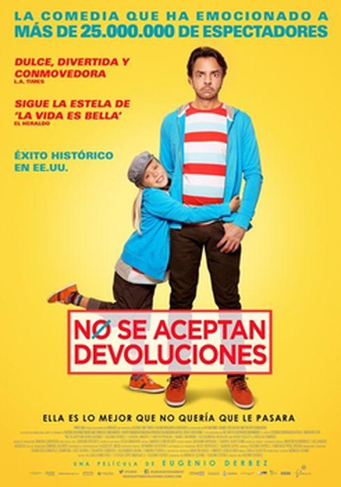Cartel oficial en español de: No se aceptan devoluciones