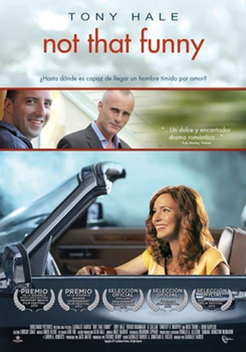Cartel oficial en español de: Not That Funny