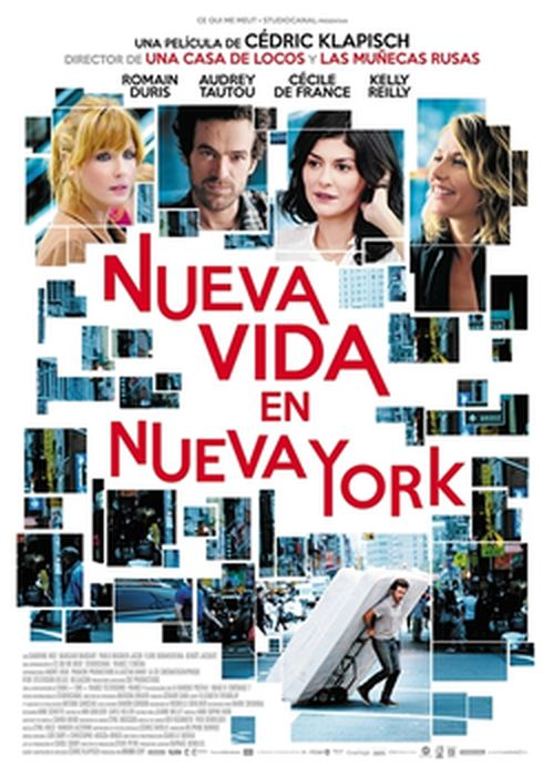 Cartel oficial en español de: Nueva vida en Nueva York