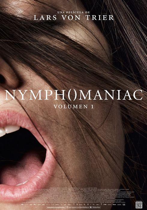 Cartel oficial en español de: Nymphomaniac. Parte 1