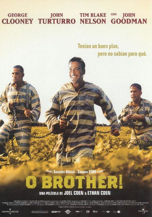 Cartel oficial en español de: O Brother!