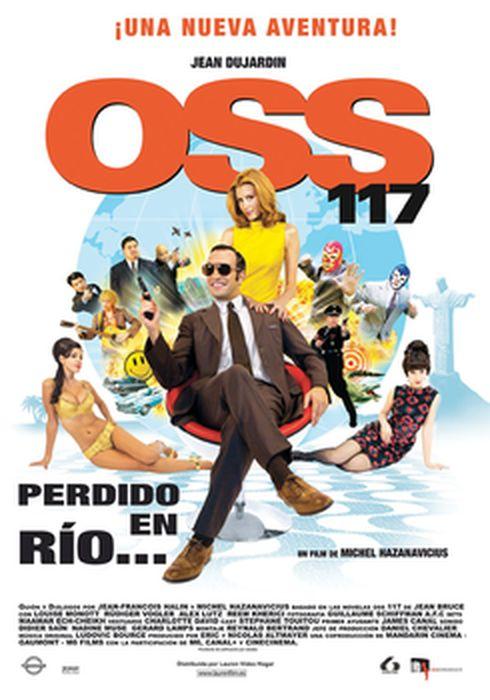 Cartel oficial en español de: OSS 117: Perdido en Río