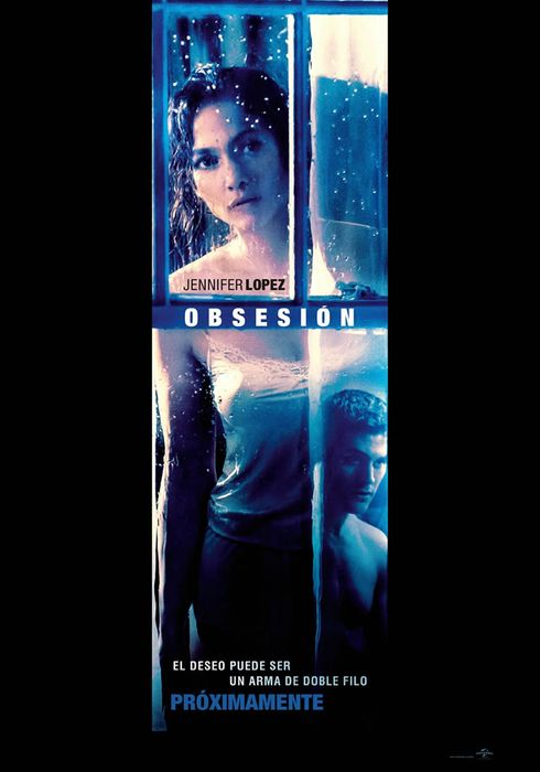 Cartel oficial en español de: Obsesión (2015)
