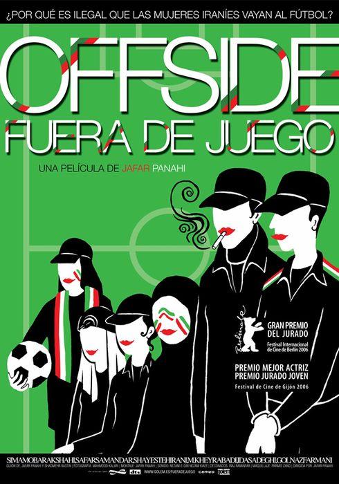 Cartel oficial en español de: Offside (Fuera de juego)